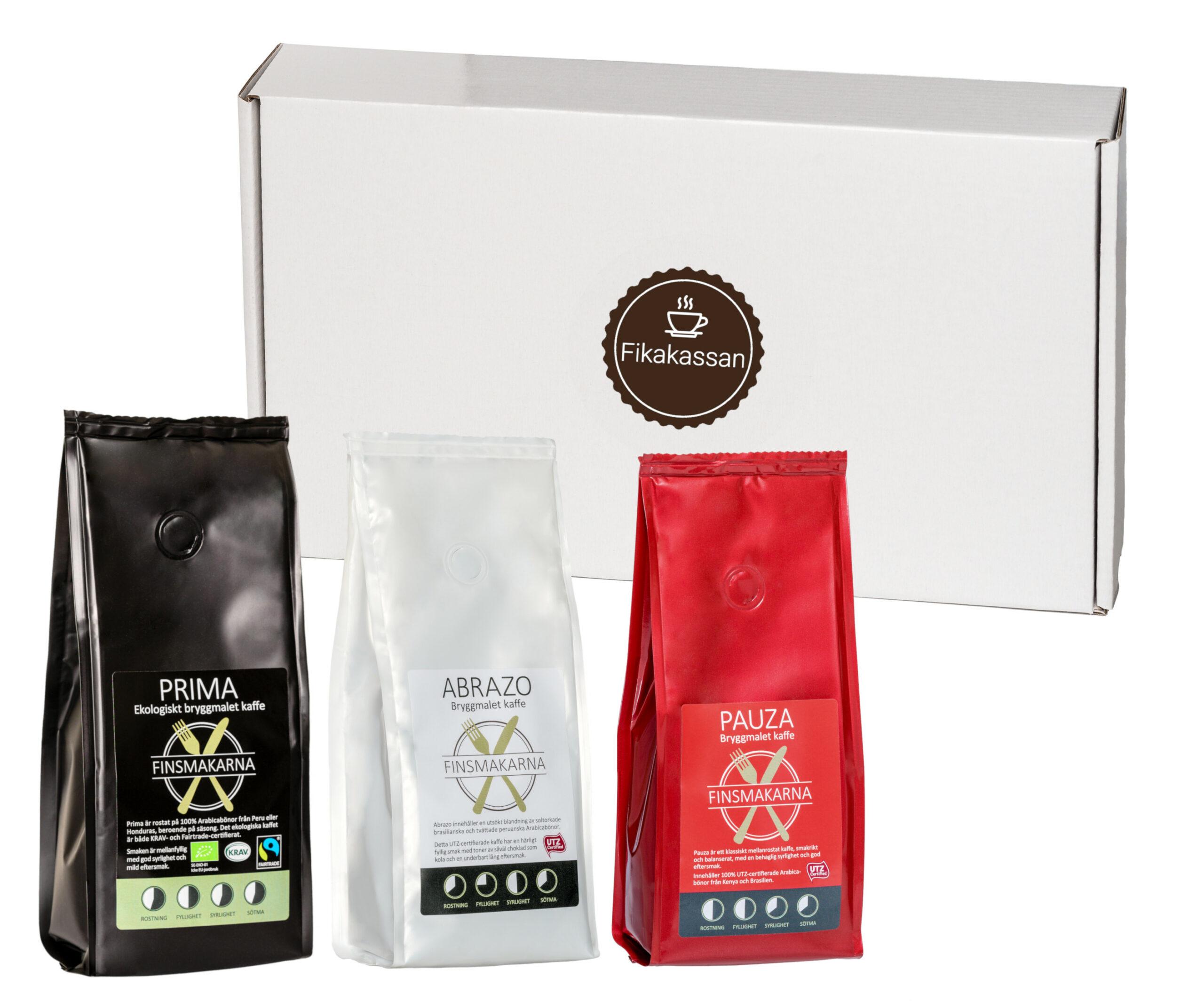 Fikakassan kaffepaket